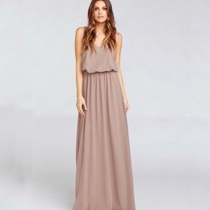 Show me your mummy Kendall chiffon maxi dress s